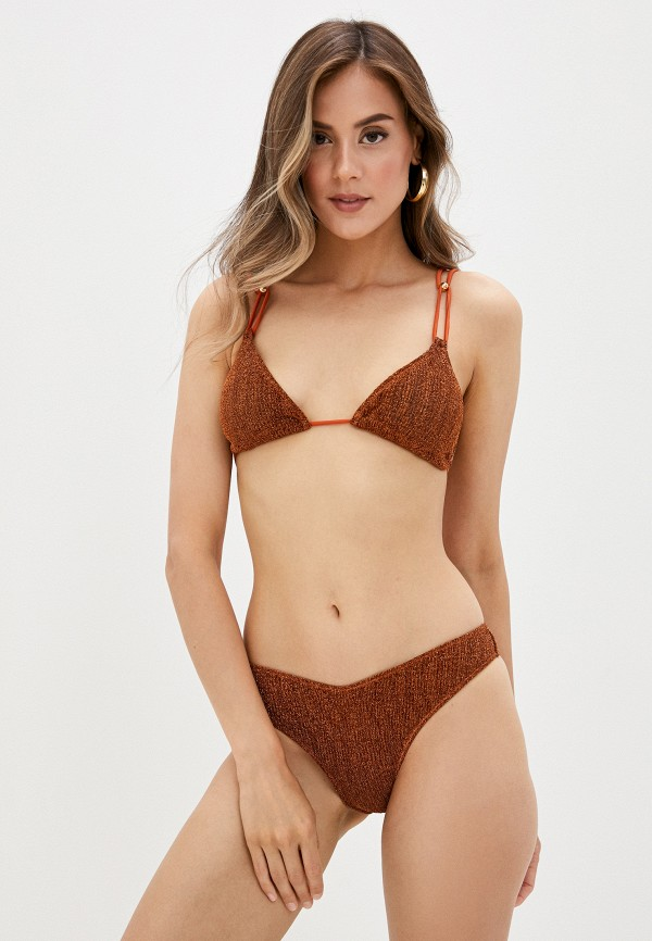 женский купальник cotazur, коричневый