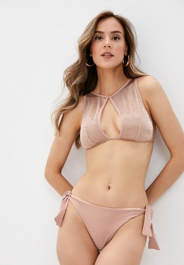 женский купальник cotazur, розовый