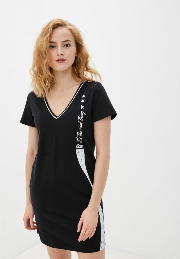 женское платье coca cola jeans, черное