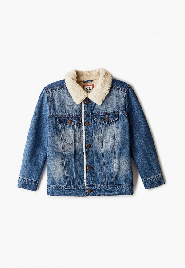 куртка cotton on для мальчика, голубая