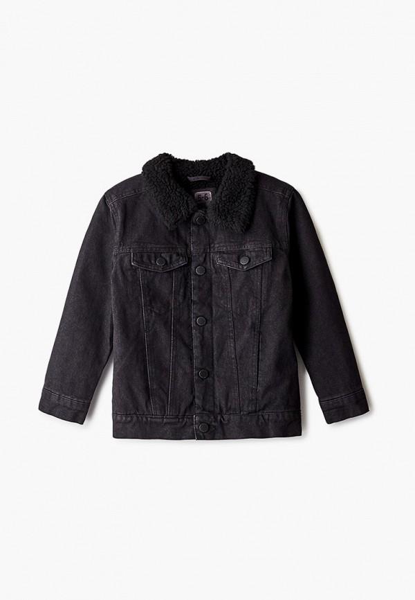куртка cotton on для мальчика, черная