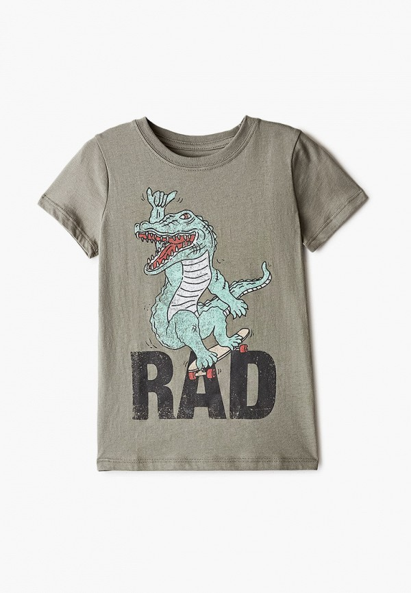 футболка с коротким рукавом cotton on для мальчика, хаки