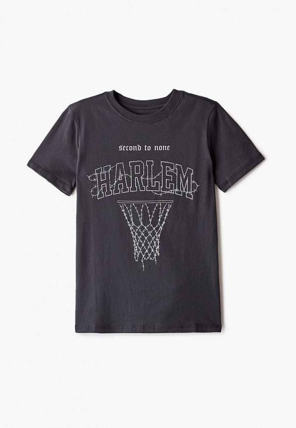 футболка с коротким рукавом cotton on для мальчика, черная
