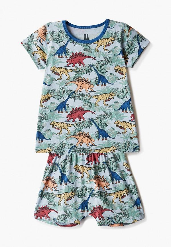 пижама cotton on для мальчика, голубая