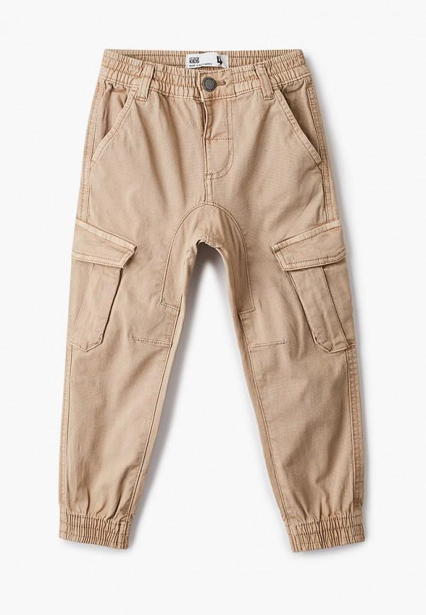 брюки cotton on для мальчика, бежевые