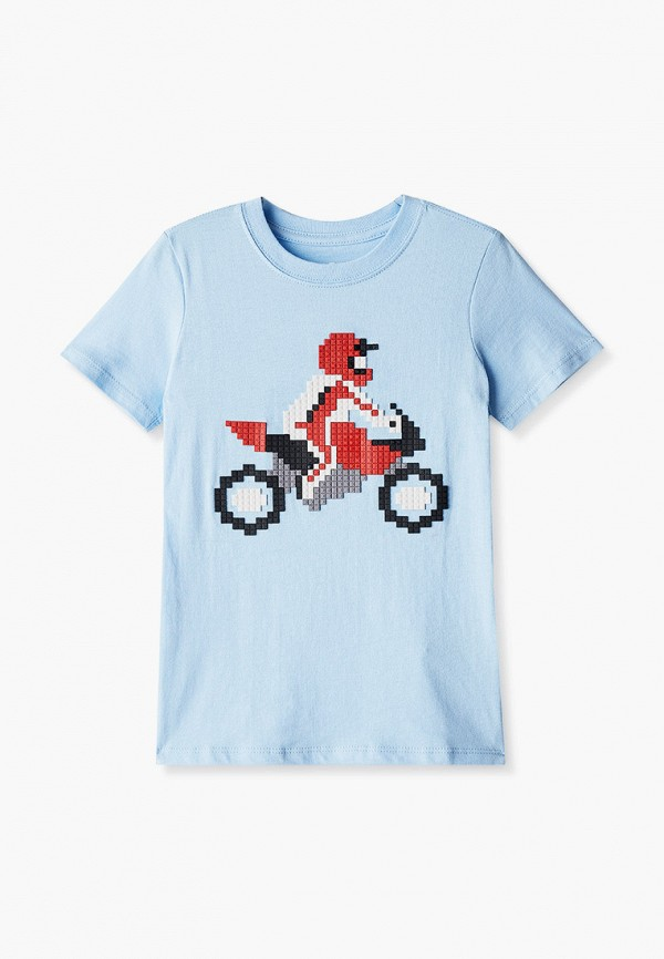 футболка с коротким рукавом cotton on для мальчика, голубая
