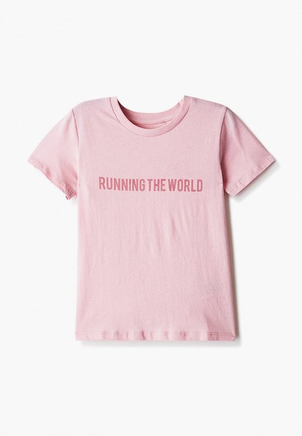 футболка с коротким рукавом cotton on для девочки, розовая