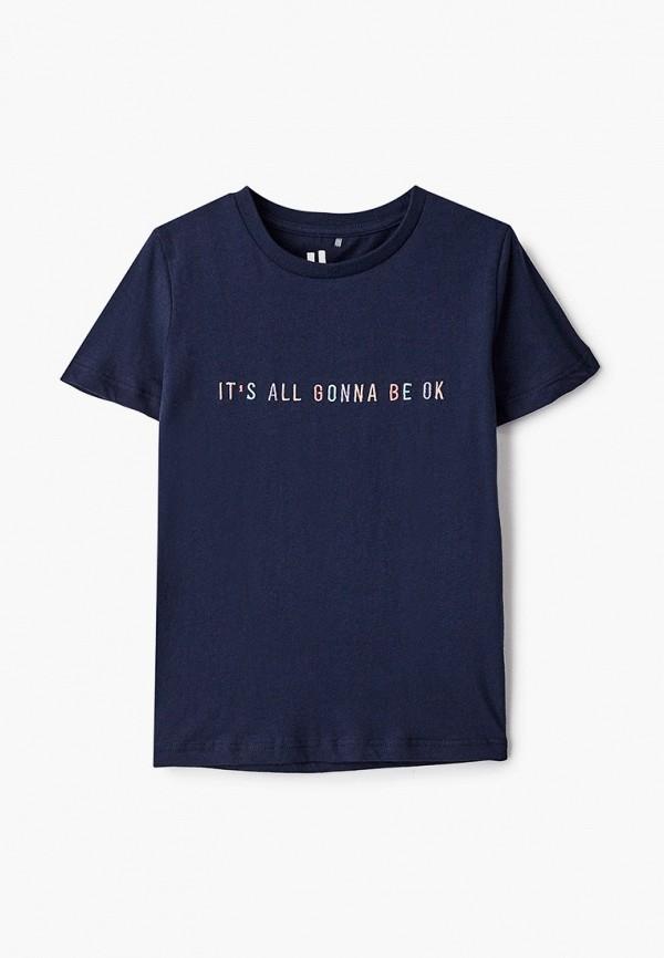 футболка с коротким рукавом cotton on для девочки, синяя
