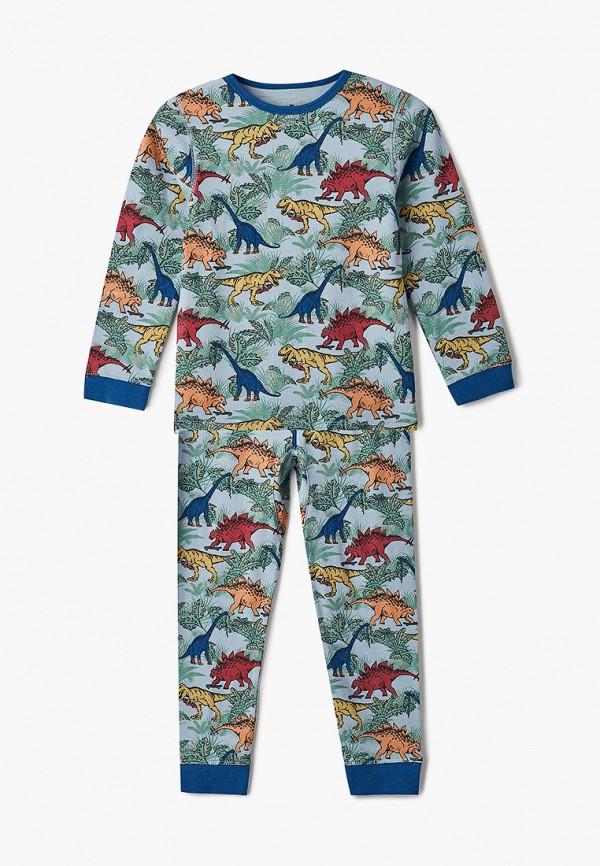 пижама cotton on малыши, голубая
