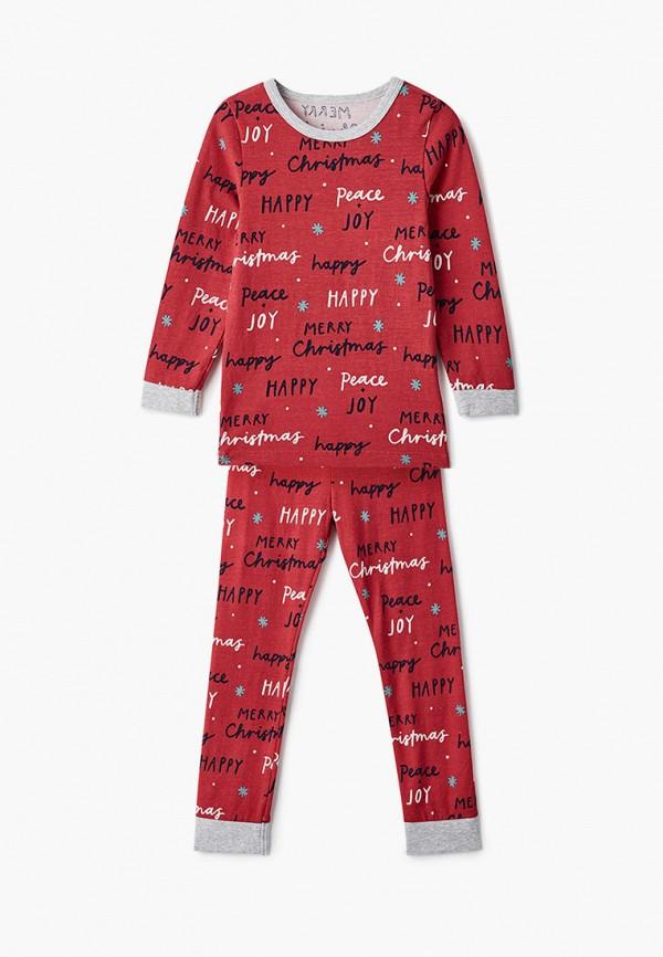 пижама cotton on малыши, красная