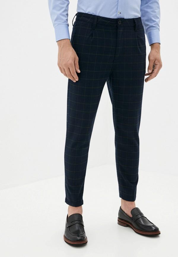 мужские повседневные брюки cotton on, синие