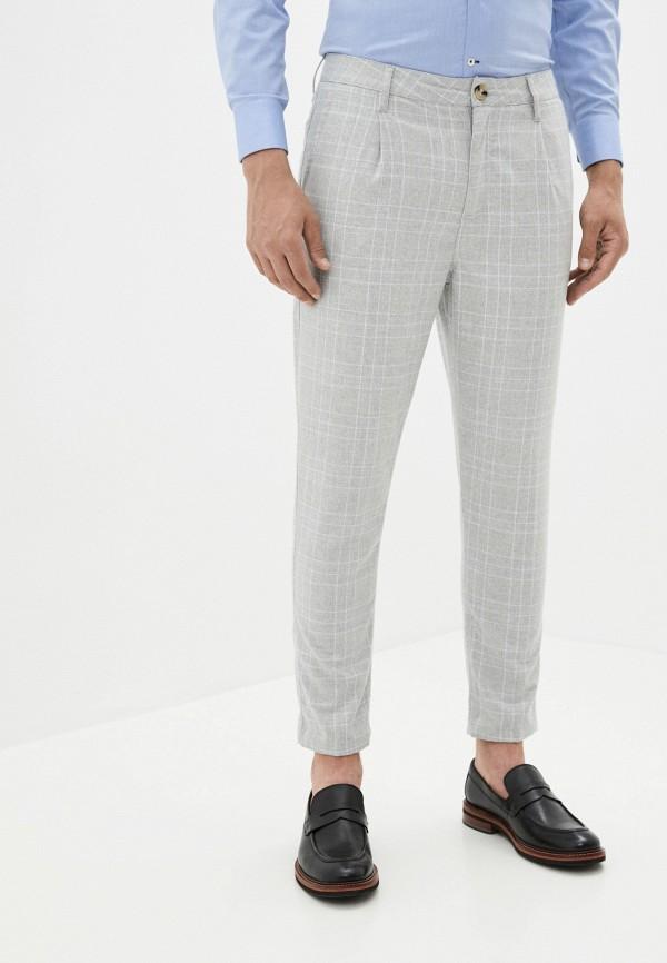 мужские повседневные брюки cotton on, серые