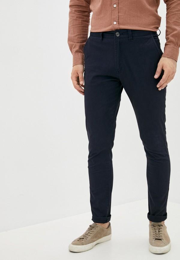мужские брюки чинос cotton on, синие