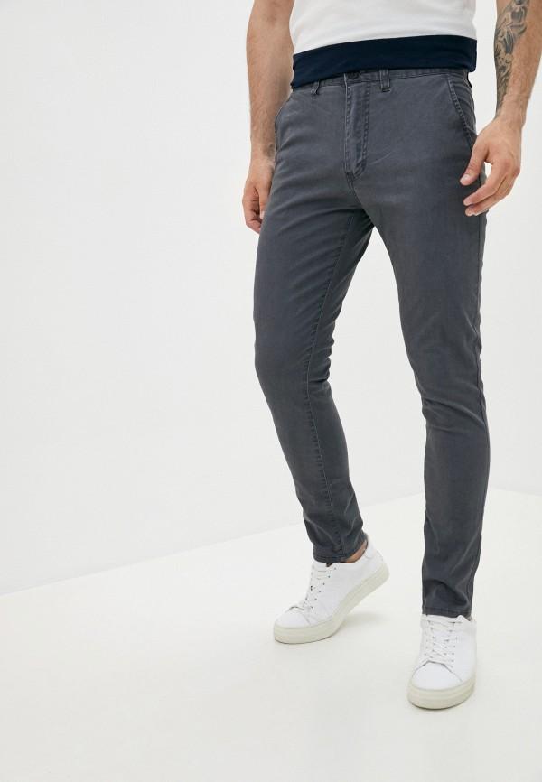 мужские брюки чинос cotton on, серые