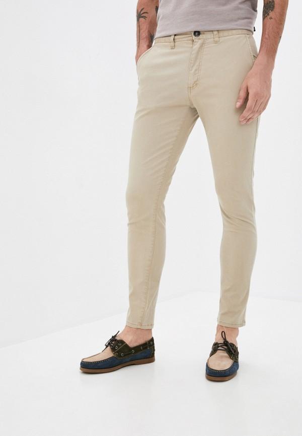 мужские брюки чинос cotton on, бежевые