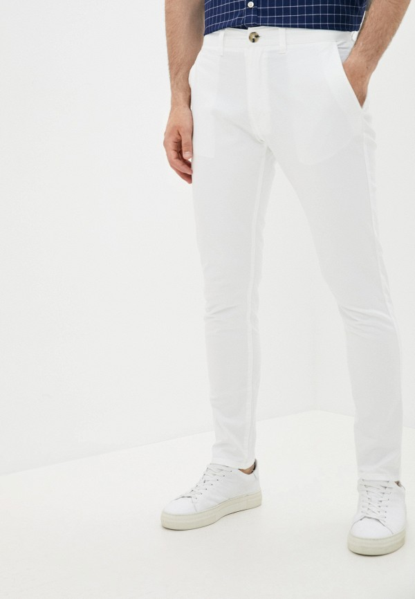мужские брюки чинос cotton on, белые