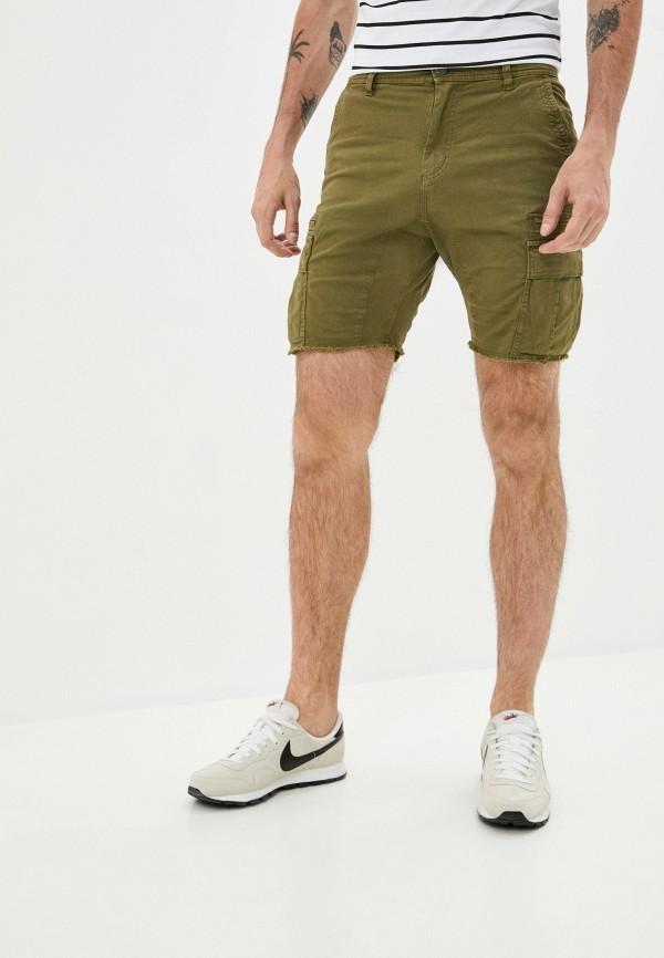 мужские повседневные шорты cotton on, хаки