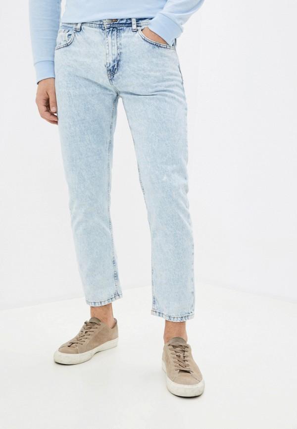 мужские прямые джинсы cotton on, голубые