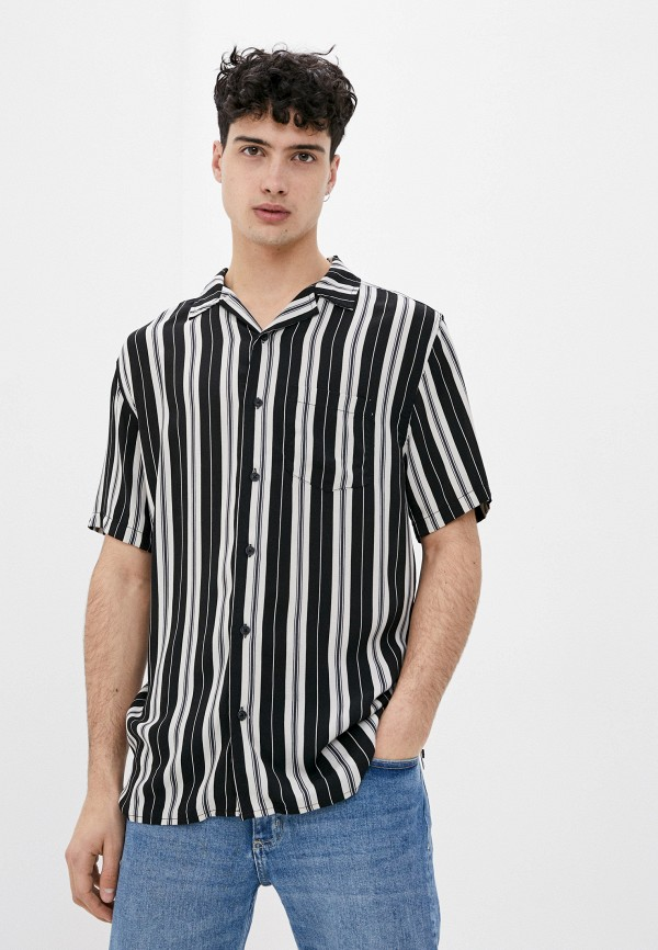 мужская рубашка с коротким рукавом cotton on, разноцветная