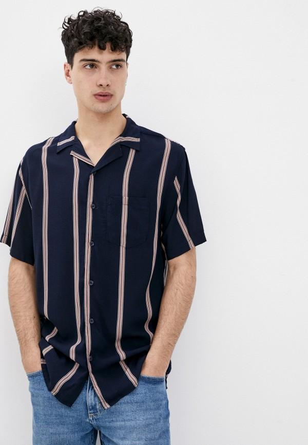 мужская рубашка cotton on, синяя