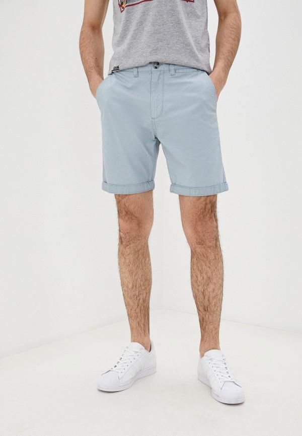 мужские повседневные шорты cotton on, голубые