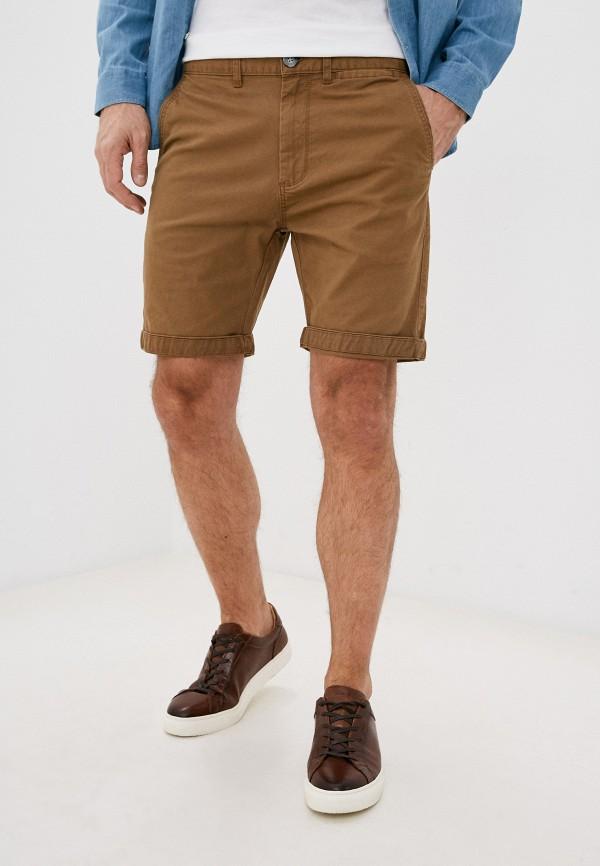 мужские повседневные шорты cotton on, коричневые