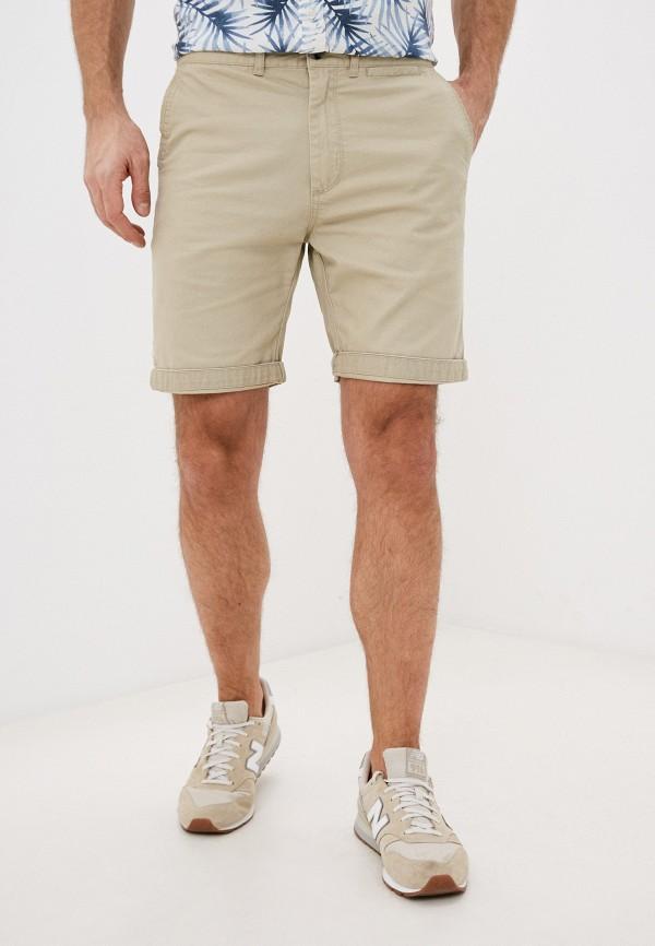 мужские повседневные шорты cotton on, бежевые