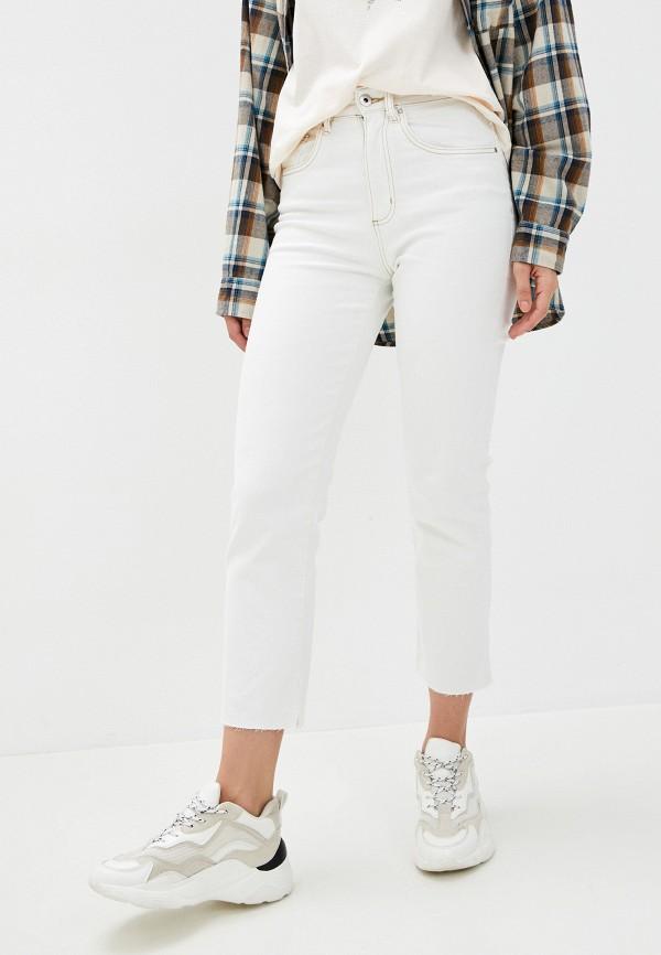 женские прямые джинсы cotton on, белые