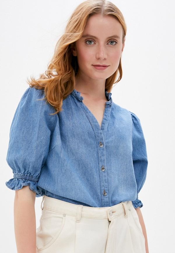 женская джинсовые рубашка cotton on, синяя