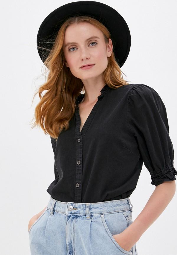 женская блузка cotton on, черная