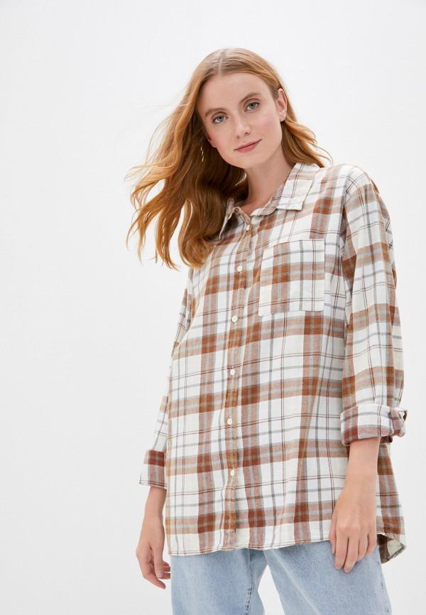 женская туника cotton on, бежевая