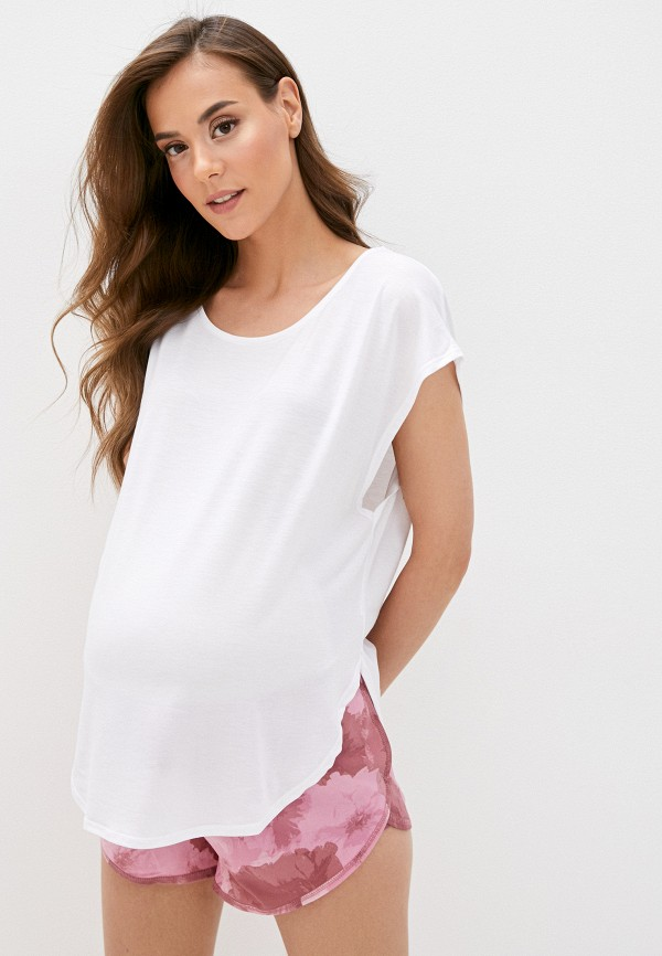 женская футболка cotton on, белая