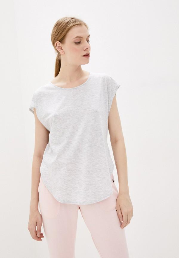 женская футболка cotton on, серая