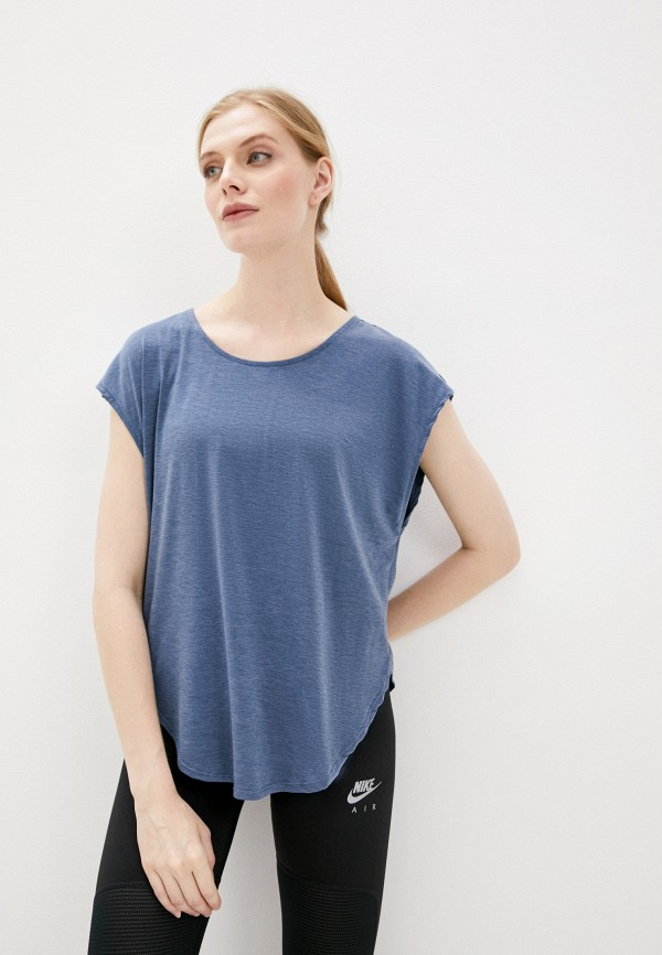женская футболка cotton on, синяя