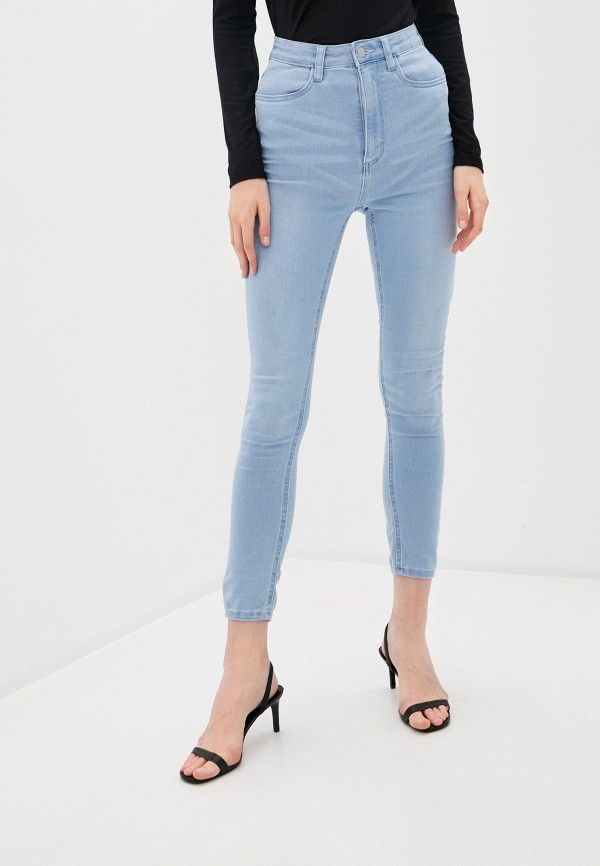 женские джинсы cotton on, голубые