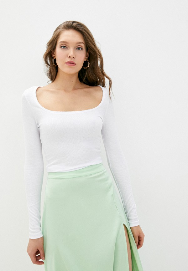 женский лонгслив cotton on, белый
