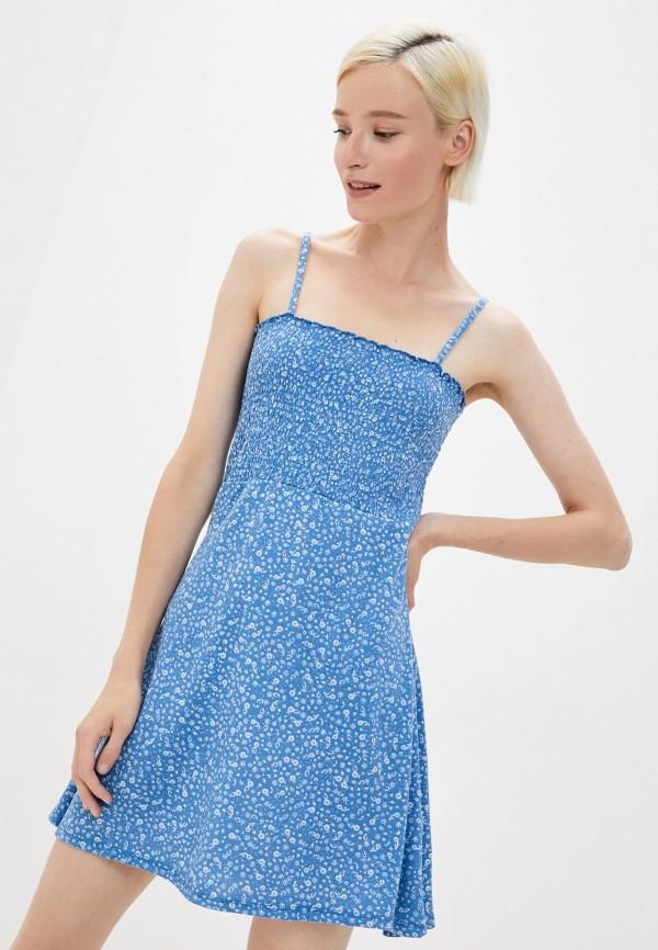 женский сарафан cotton on, голубой