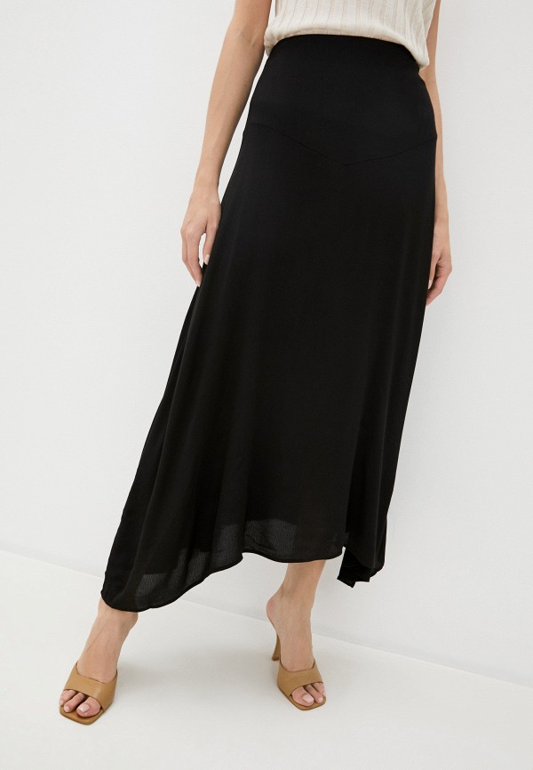 женская юбка-трапеции cotton on, черная