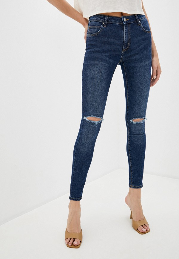 женские джинсы cotton on, синие