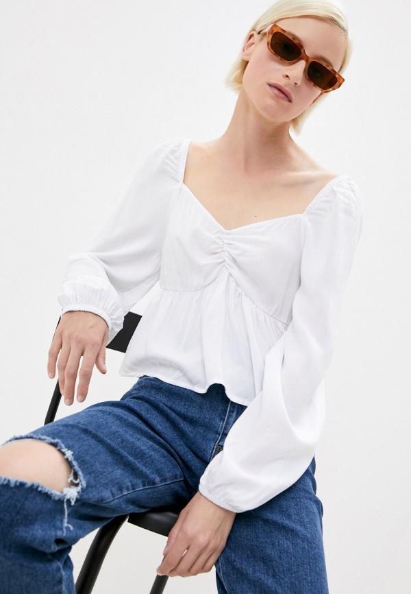 женская блузка cotton on, белая