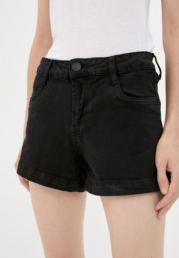 женские джинсовые шорты cotton on, черные