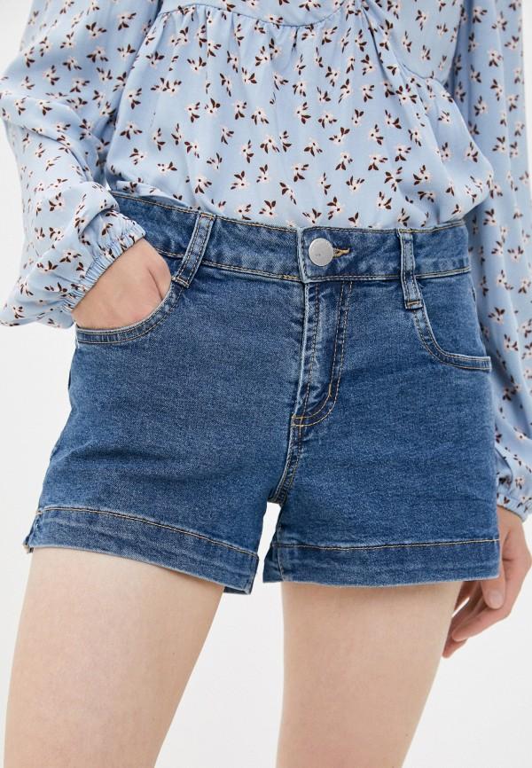 женские джинсовые шорты cotton on, синие
