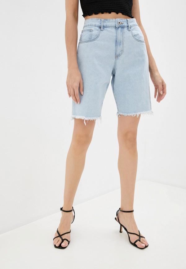 женские джинсовые шорты cotton on, голубые