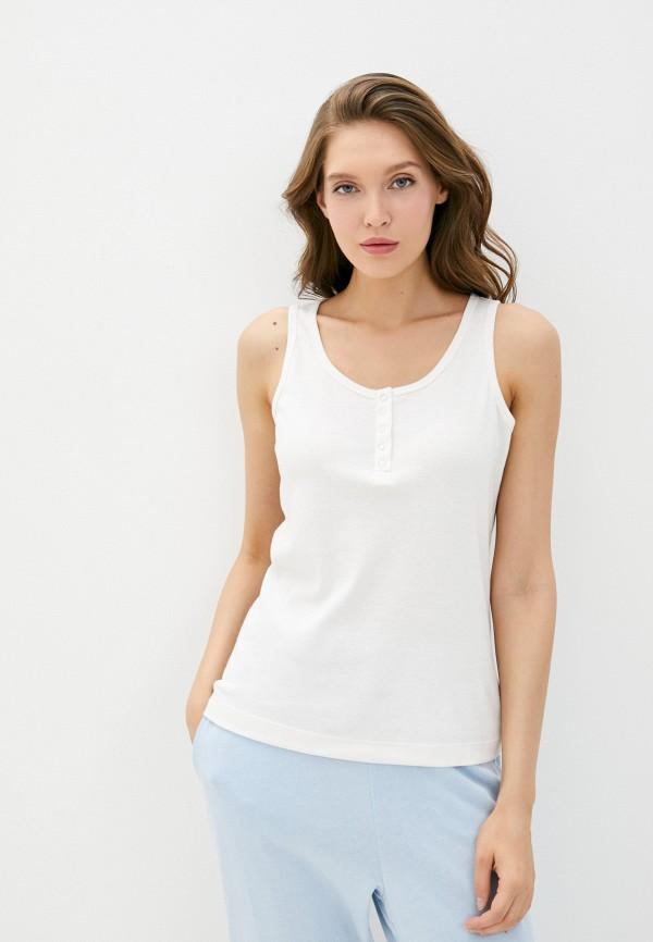 женская майка cotton on, белая