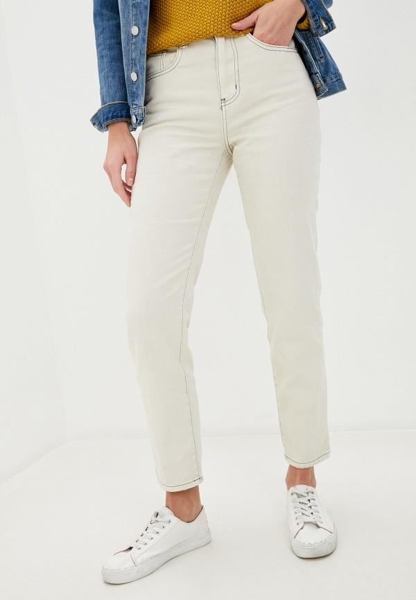 женские прямые джинсы cotton on, бежевые