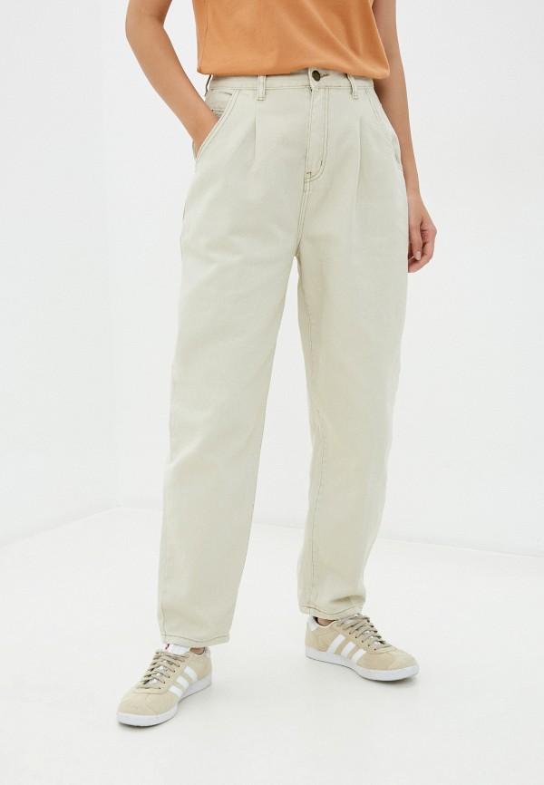 женские повседневные брюки cotton on, бежевые