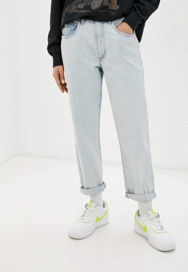 женские прямые джинсы cotton on, голубые