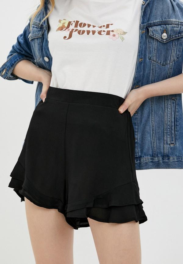 женские повседневные шорты cotton on, черные