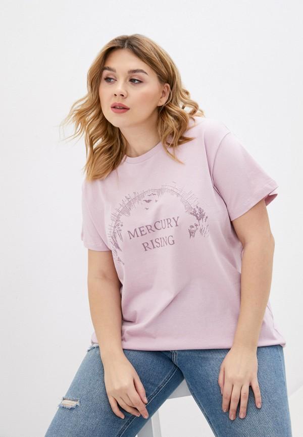 женская футболка cotton on, фиолетовая