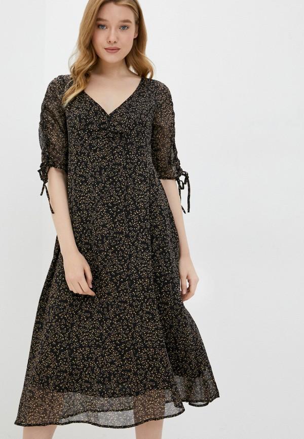 женское повседневные платье cotton on, черное